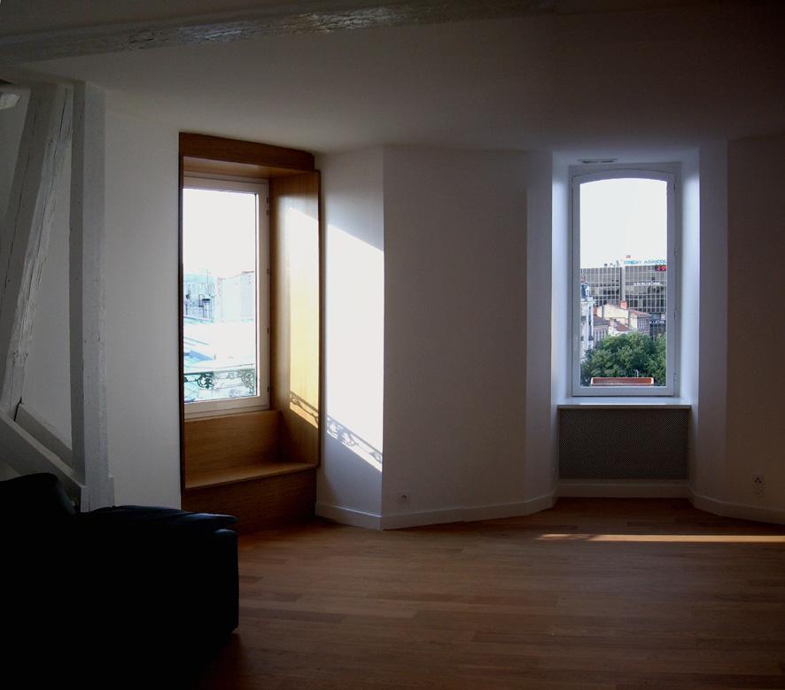 Fenêtre appartement haussmannien