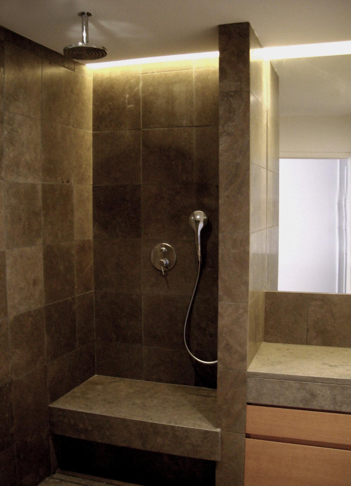 Salle de bain appartement haussmannien